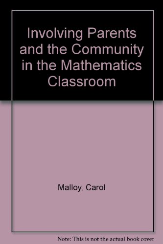9780028248202: Involving Parents and the Community in the Mathematics Classroom