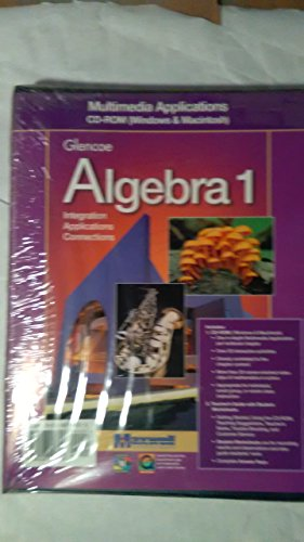 9780028248806: Glencoe Algebra 1 Multimedia Cd-Rom