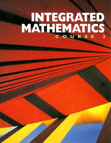 Integrated Mathematics: Course 2: Bumby