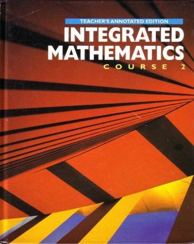 Integrated Mathematics: Richard J. Klutch;