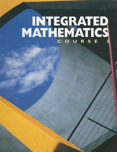 Integrated Mathematics: Donald W. Collins;