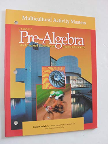 9780028250496: Glencoe Pre-Algebra An Integrated Transition to Algebra and Geometry (Tech Prep and Applications Masters)