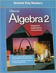9780028251431: Glencoe Algebra 2: Answer Key Masters