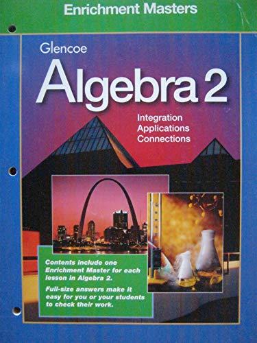 9780028251561: Algebra 2 Enrichment Masters