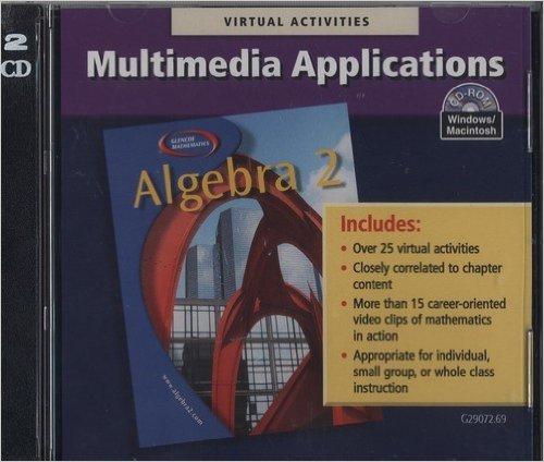 9780028251653: Algebra 2 Multimedia Applications Windows/Mac
