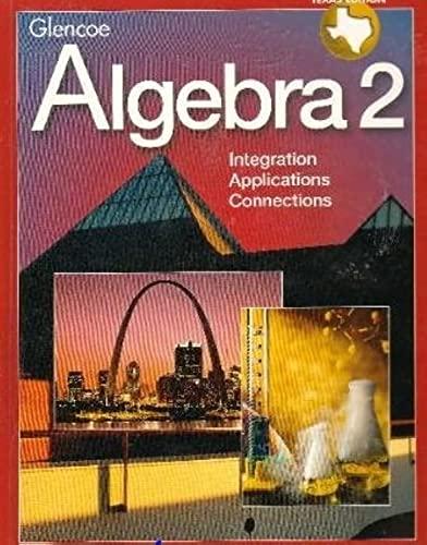 9780028251790: Algebra 2 Texas Edition