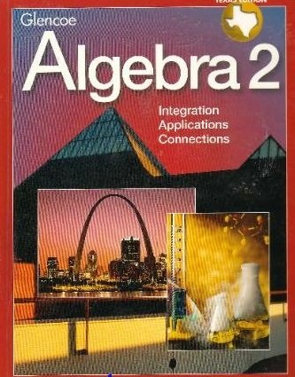 9780028251790: Algebra 2 Texas Edition