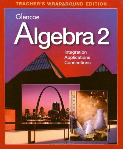 9780028251813: Algebra 2 Teacher Wraparound Editon