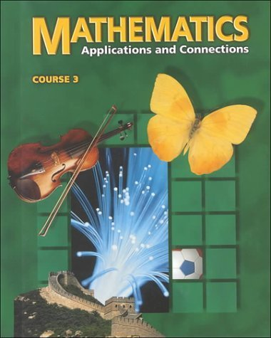 9780028252179: Mathematics: Applications and Connections Course 2
