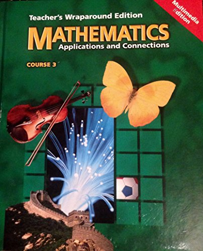 9780028252223: Mathematics Applications and Connections Course 3