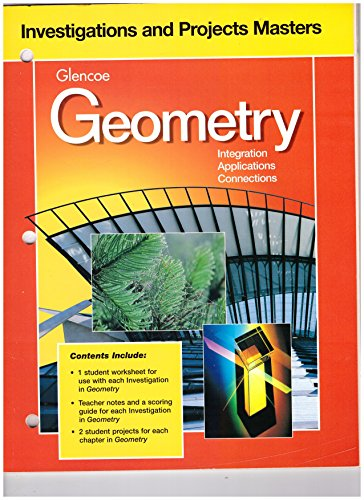 9780028252865: Practice Masters Glencoe Geometry-Integration, Applications, Connections