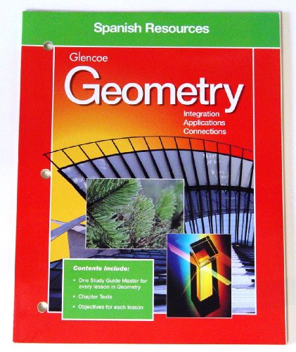 9780028252971: Glencoe Geometry Spanish Resources: Integration, Applications, Connections