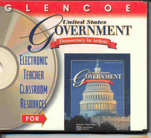 9780028254685: United States Government Democracy in Action (Electronic Teacher Classroom Resources)