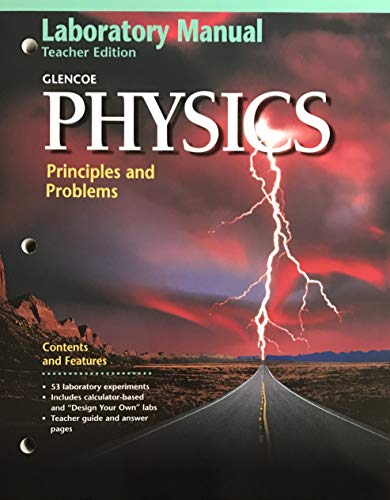 9780028254845: Physics: Principles and Problems Teacher's Laboratory Manual