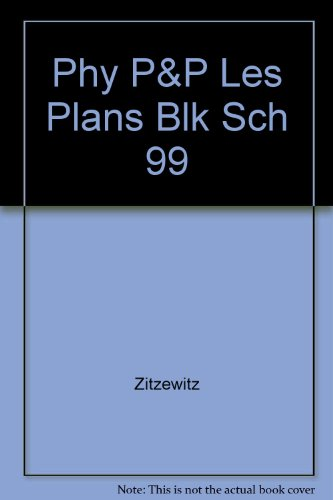 9780028254883: Physics: Principles and Problems - Lesson Plans (Includes Block Scheduling)