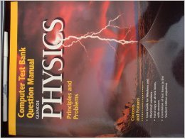 Glencoe Physics: Principles and Problems - Computer Test Bank Question Manual: Zitzewitz, Paul
