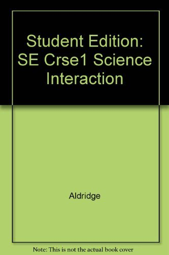 9780028260327: Science Interactions: Book 1