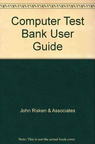 9780028263168: Computer Test Bank User Guide