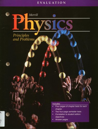 9780028267432: Physics Principles and Problems Evaluation