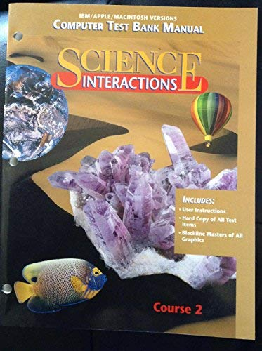 9780028268279: Computer Test Bank Manual (Science Interactions, Course 2)
