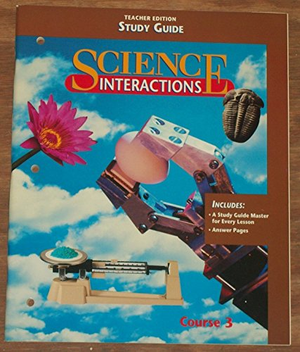 9780028268606: Study Guide (Science Interactions, Course 3)