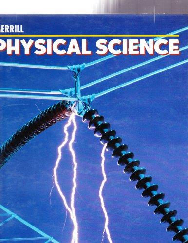Merrill Physical Science Teacher Wraparound Edition: et al, Thompson