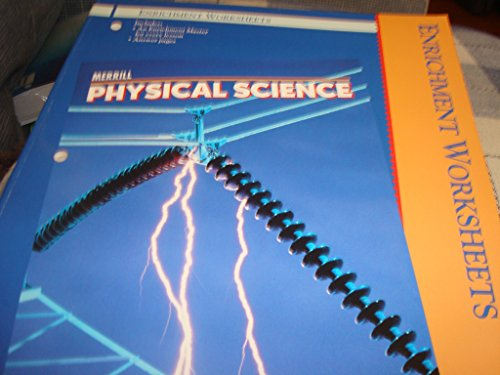 9780028269931: Merrill Physical Science Enrichment Worksheets