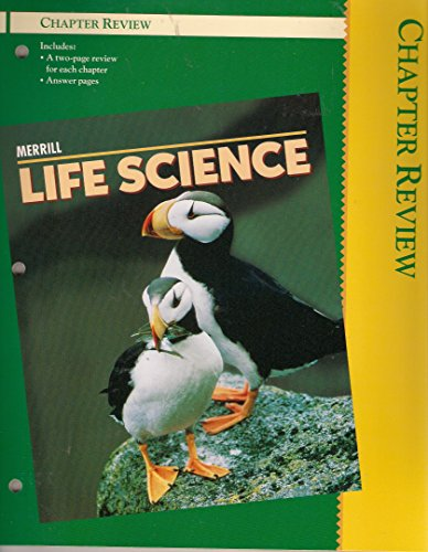 9780028270326: Merrill Life Science Chapter Review