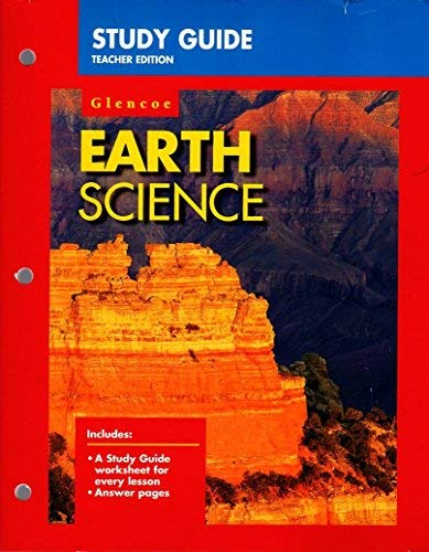 9780028271934: Earth Science - Study Guide - Teacher Edition