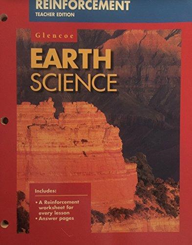 9780028271972: Earth Science - Reinforcement - Teacher Edition