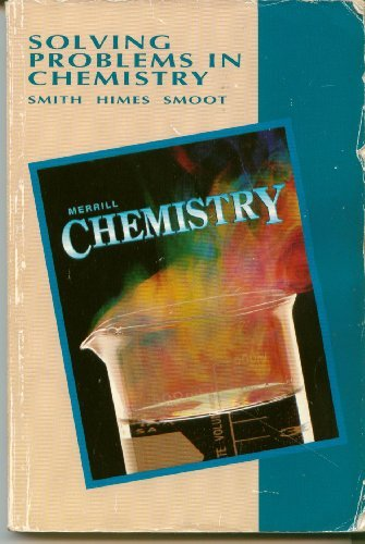 9780028272283: Merrill Chemistry: Solving Problems in Chemistry