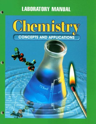 9780028274591: Chemistry Laboratory Manual: Concepts and Applications