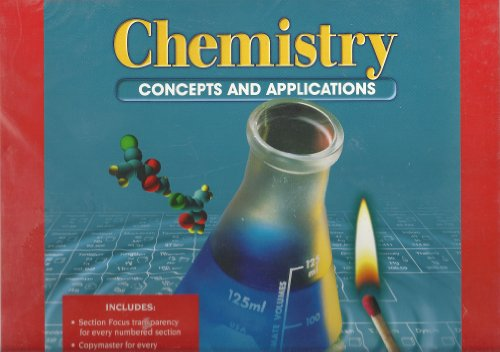 9780028274676: Chemistry Concepts and Applications: Section Focus Transparency Package