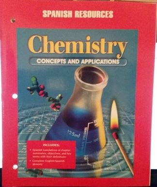 9780028274751: Chemistry, Concepts and Applications, Spanish Resources (Chemistry, concepts and applications, spanish resources)