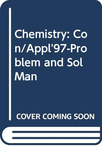9780028274768: Chemistry Concepts and Applications: Problems and Solutions Manual