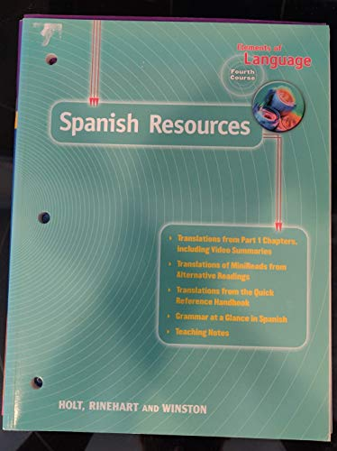 9780028275444: Science Interactions - Spanish Resources - Course 4