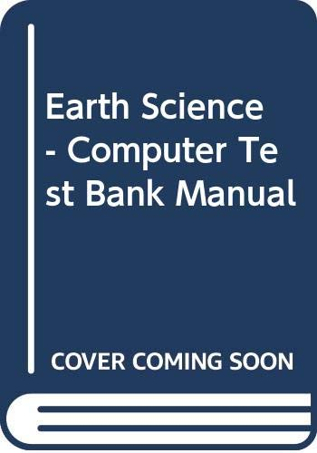 9780028278216: Earth Science - Computer Test Bank Manual