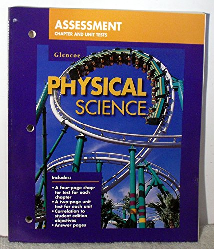 9780028278827: Glencoe Physical Science: Assessment Chapter and Unit Tests