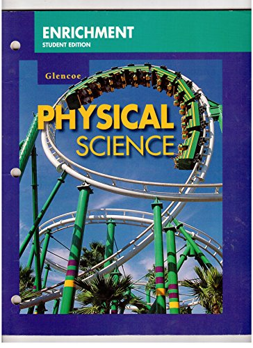 9780028278926: Enrichment Worksheets, Student Edition, for Use with Glencoe Physical Science