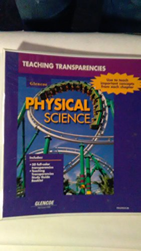 9780028279138: Glenoce Physical Science Teaching Transparency Package