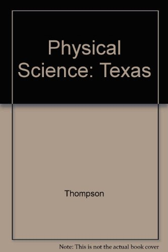 9780028279312: Glencoe Physical Science, Texas Edition