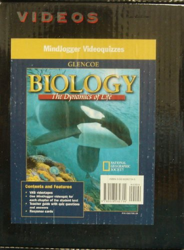 9780028282794: Mindjogger Videoquizzes, Biology the Dynamics of Life, Set of 5 VHS Tapes & Teacher Guide (Chapters 1-33) (Videos, Biology)