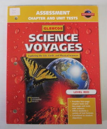9780028287959: Glencoe Science Voyages: Assessment Chapter and Unit Tests: Level Red