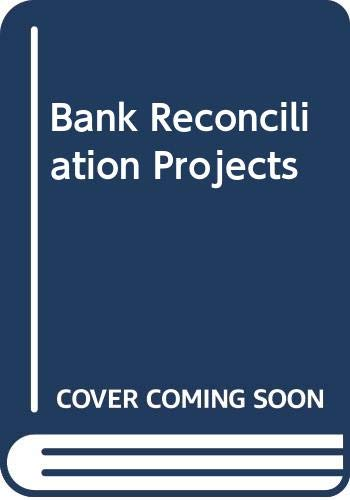 9780028305301: Bank Reconciliation Projects