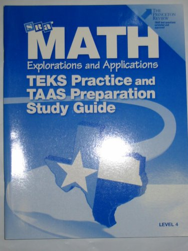 9780028307589: Math Explorations and Applications (TEKS Practice and TAAS Preparation Study Guide, Level 4)