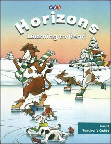 9780028307794: SRA Horizons Learning to Read, Level B, Teacher's Guide