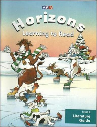 9780028307817: Horizons, Learning to Read: Level B Literature Guide