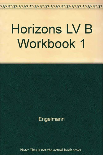 9780028307879: Horizons Learning to Read, Level B Workbook 1