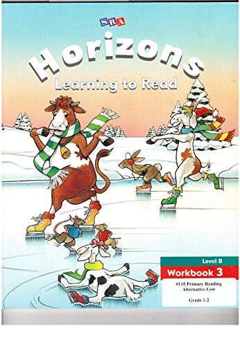 9780028307893: Horizons Learning to Read Level B Workbook 3