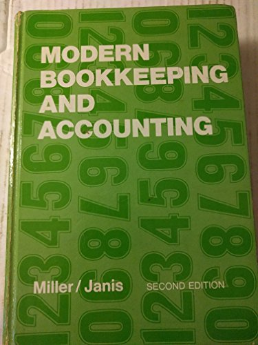 9780028307909: Modern Bookkeeping and Accounting